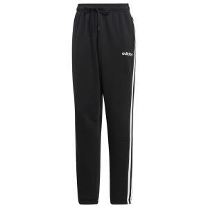 アディダス adidas Athletics メンズ ボトムス・パンツ Essential 3 Stripe Open Hem Fleece Pants Black/White|fermart