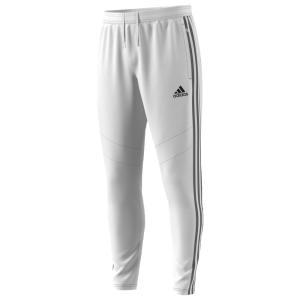 アディダス adidas メンズ スウェット・ジャージ ボトムス・パンツ Tiro 19 Pants White/Black|fermart