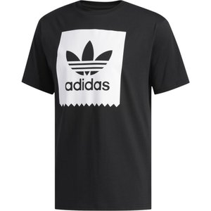 アディダス adidas Originals メンズ Tシャツ トップス Solid Blackbird T-Shirt Black/White|fermart