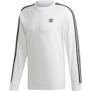 アディダス adidas Originals メンズ 長袖Tシャツ トップス california long sleeve t-shirt White|fermart