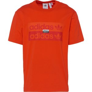 アディダス adidas Originals メンズ Tシャツ トップス R.Y.V. D Logo T-Shirt Active Orange|fermart