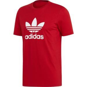 アディダス adidas Originals メンズ Tシャツ トップス Trefoil T-Shirt Scarlet|fermart