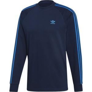 アディダス adidas Originals メンズ 長袖Tシャツ トップス california long sleeve t-shirt Collegiate Navy|fermart