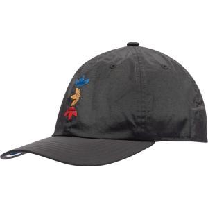 アディダス adidas Originals メンズ キャップ 帽子 Relaxed Space Tech Cap Black|fermart
