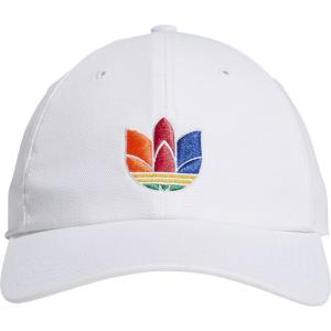 アディダス adidas Originals メンズ キャップ 帽子 3d trefoil strapback White fermart