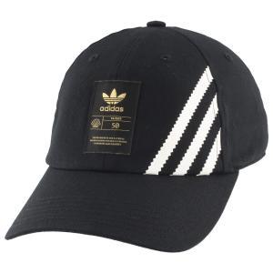 アディダス adidas Originals ユニセックス キャップ 帽子 superstar 50 relaxed cap Black|fermart
