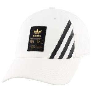 アディダス adidas Originals ユニセックス キャップ 帽子 superstar 50 relaxed cap White|fermart