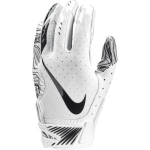 ナイキ メンズ グローブ アメリカンフットボール Vapor Jet 5.0 Football Gloves White/White/Black|fermart