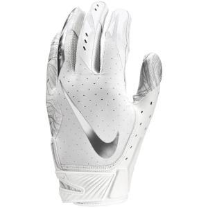 ナイキ メンズ グローブ アメリカンフットボール Vapor Jet 5.0 Football Gloves White/White/Chrome fermart