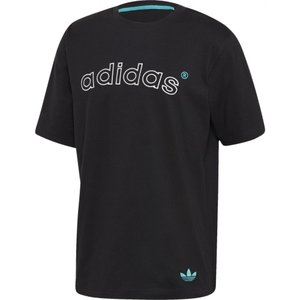アディダス adidas Originals メンズ Tシャツ トップス Arc S/S T-Shirts Black|fermart