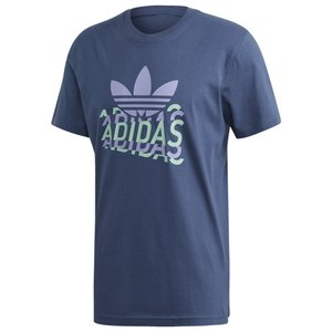 アディダス adidas Originals メンズ Tシャツ トップス Multifade S/S T-Shirt Night Marine|fermart