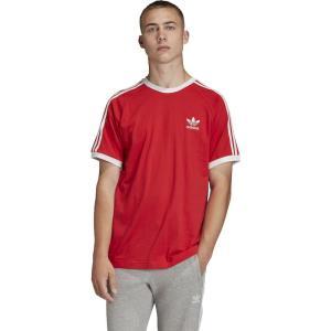 アディダス adidas Originals メンズ Tシャツ トップス california t-shirt Lush Red|fermart