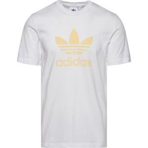 アディダス adidas Originals メンズ Tシャツ トップス trefoil t-shirt White/Easy Yellow|fermart