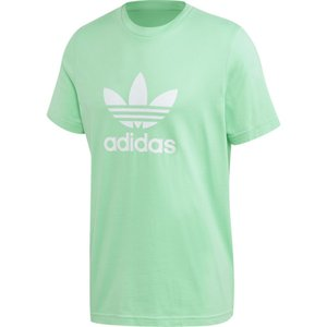 アディダス adidas Originals メンズ Tシャツ トップス trefoil t-shirt Prism Mint/White|fermart