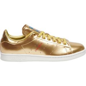 アディダス adidas Originals メンズ スニーカー シューズ・靴 Stan Smith Gold/White Space Tech|fermart