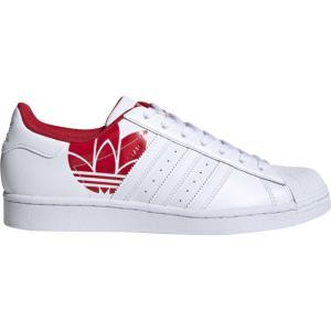 アディダス adidas Originals メンズ スニーカー シューズ・靴 Superstar White/Scarlet fermart