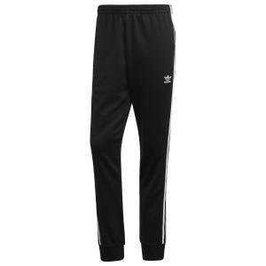 アディダス adidas Originals メンズ スウェット・ジャージ ボトムス・パンツ Superstar Track Pants Black/White fermart