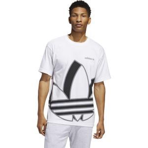 アディダス adidas Originals メンズ Tシャツ トップス Big Trefoil S/S T-Shirt White|fermart