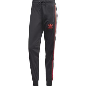 アディダス adidas Originals メンズ スウェット・ジャージ ボトムス・パンツ Chile 20 Track Pants Black/Red fermart