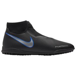 ナイキ Nike メンズ シューズ・靴 サッカー Phantom Vision Academy DF TF Black/Metallic Silver/Racer Blue|fermart
