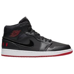 ナイキ ジョーダン Jordan メンズ シューズ・靴 バスケットボール AJ 1 Mid SE Black/University Red/White fermart