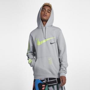 ナイキ Nike メンズ パーカー トップス Microbrand Pullover Hoodie Wolf Grey|fermart