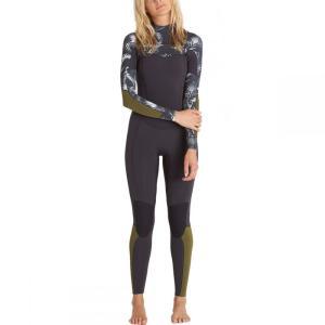 【残り1点!】【サイズ:12】ビラボン Billabong レディース 水着・ビーチウェア ウェットスーツ Surf Capsule Salty Dayz 3/2 Full Suit|fermart