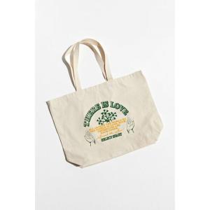 アーバンアウトフィッターズ Urban Outfitters メンズ トートバッグ バッグ there is love tote bag Tan fermart