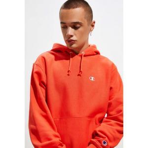 チャンピオン Champion メンズ スウェット・トレーナー トップス UO Exclusive Reverse Weave Hoodie Sweatshirt Light Red fermart
