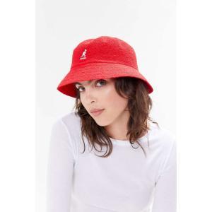 カンゴール Kangol レディース ハット バケットハット 帽子 Bermuda Bucket Hat Red|fermart