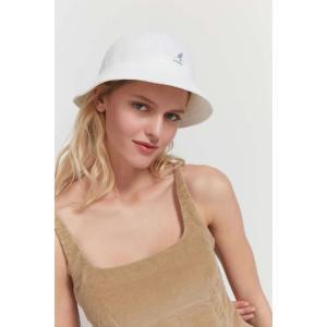 カンゴール Kangol レディース ハット バケットハット 帽子 Bermuda Casual Bucket Hat White|fermart