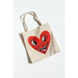 アーバンアウトフィッターズ Urban Outfitters メンズ トートバッグ バッグ keith haring big heart tote bag Tan fermart