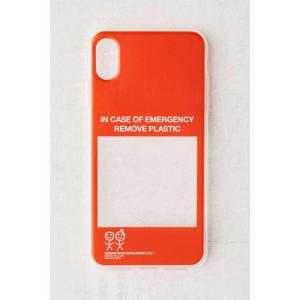 アーバン ソフィスティケーション Urban Sophistication ユニセックス iPhoneケース in case of emergency iphone case|fermart