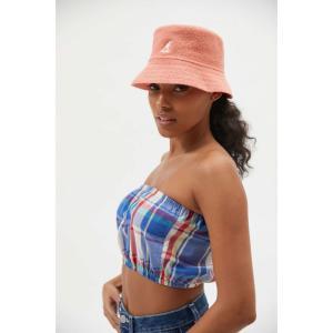 カンゴール Kangol レディース ハット バケットハット 帽子 Bermuda Bucket Hat Peach Pink|fermart