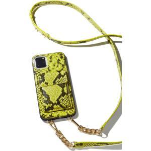 ソニックス Sonix ユニセックス iPhoneケース neon python crossbody iphone case|fermart