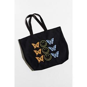 アーバンアウトフィッターズ Urban Outfitters メンズ トートバッグ バッグ butterfly smile tote bag Black fermart