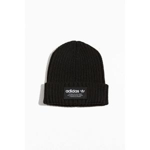 アディダス adidas メンズ ニット ビーニー 帽子 originals cuff beanie Black fermart