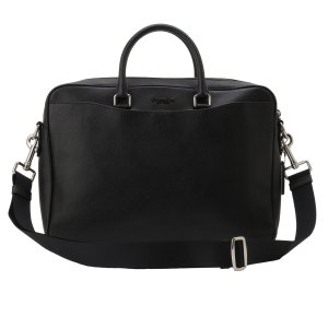【即納】コーチ Coach メンズ ビジネスバッグ・ブリーフケース バッグ Leather Bag NIBLK 2way 通勤 F68030 fermart