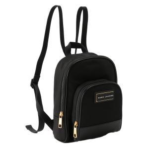 【即納】マーク ジェイコブス Marc Jacobs ユニセックス バックパック・リュック バッグ Backpack M0016389 BLACK ミニリュック ロゴ|fermart