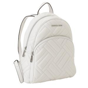 【即納】マイケル コース Michael Kors レディース バックパック・リュック バッグ LEATHER BAG 35s9sayb2t OPTIC WHITE ロゴ キルティング|fermart