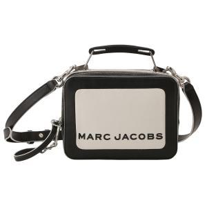 【即納】マーク ジェイコブス Marc Jacobs レディース ショルダーバッグ バッグ THE BOX 20 M0014506 COTTON MULTI ザボックス 2way バイカラー カラーブロック|fermart