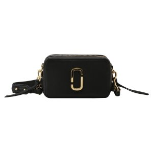 【即納】マーク ジェイコブス Marc Jacobs レディース ショルダーバッグ バッグ THE SOFTSHOT 21 M0014591 BLACK ソフトショット クロスボディ|fermart