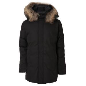 【即納】ピレネックス Pyrenex メンズ ダウン・中綿ジャケット アウター Annecy Fur Down Jkt Hmo019 BLACK アヌシー フーデッド ダウンコート|fermart