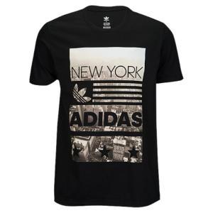 【即納】アディダス adidas Originals メンズ Tシャツ トップス Graphic T-Shirt Black|fermart