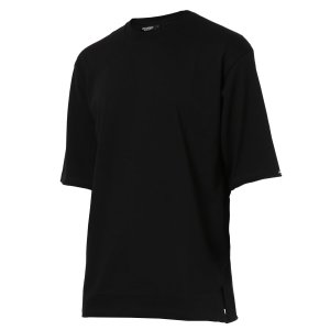 【即納】エンコーデッド ENCODED メンズ 長袖Tシャツ トップス ロンT ロングT ロングスリーブ Oversized half-sleeve T-shirt Black|fermart