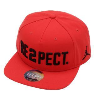 【即納】ナイキ ジョーダン Jordan メンズ キャップ 帽子 Jordan Pro Re2pect Adjustable Hat University Red/Black Red/Black|fermart