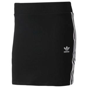 【即納】アディダス adidas Originals レディース スカート 3-Stripes Skirt Black/White|fermart