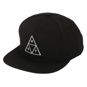 【即納】ハフ HUF メンズ キャップ 帽子 TRIPLE TRIANGLE SNAPBACK CAP BLACK|fermart