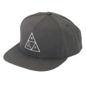 【即納】ハフ HUF メンズ キャップ 帽子 TRIPLE TRIANGLE SNAPBACK CAP CHARCOAL fermart