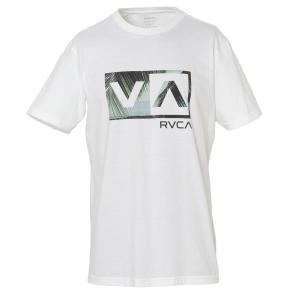 【即納】ルーカ RVCA メンズ Tシャツ トップス BALANCE BOX SS WHITE ボックスロゴ|fermart